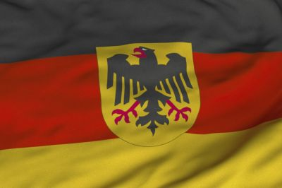 German State Flag is a tricolour consisting of three equal horizontal bands displaying the national colours of Germany: black, red, and gold