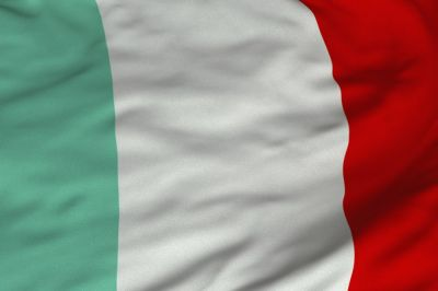 The flag of Italy is a tricolour featuring three equally sized vertical pales of green, white and red