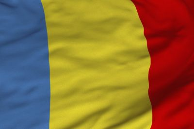 The flag of Romania is a tricolour with vertical stripes: beginning from the flagpole, blue, yellow and red
